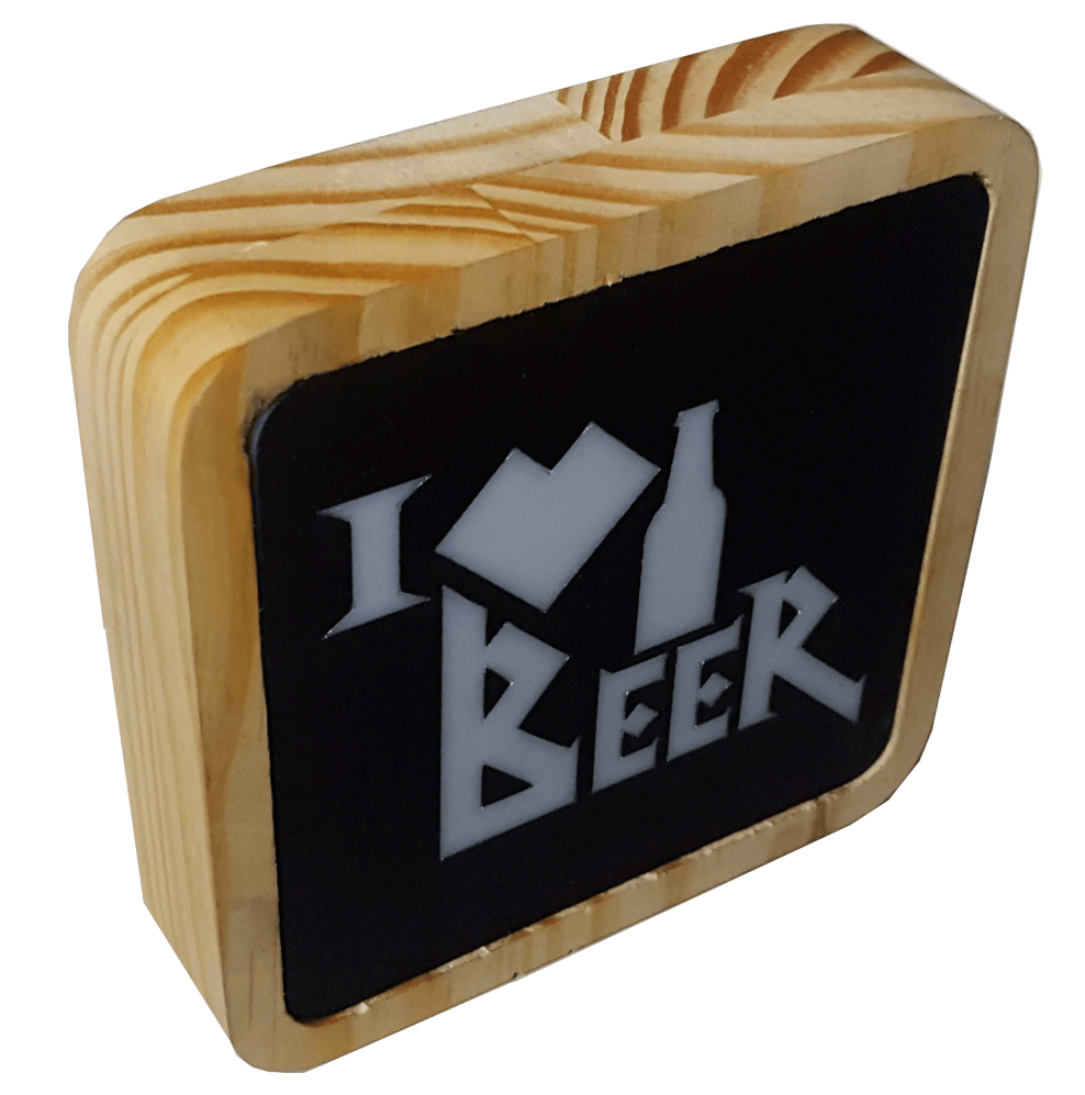 Mini Luminaria I _ Beer