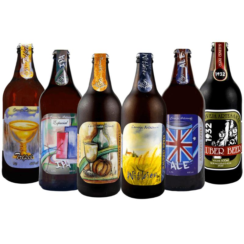 Pack Saube Beer 6 Estilos