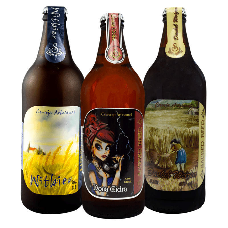 Pack Sauber Cervejas de Trigo