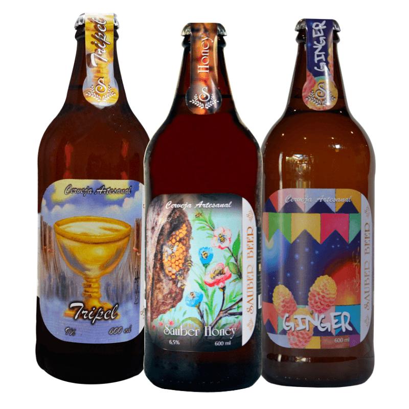 Pack Sauber Cervejas Fortes