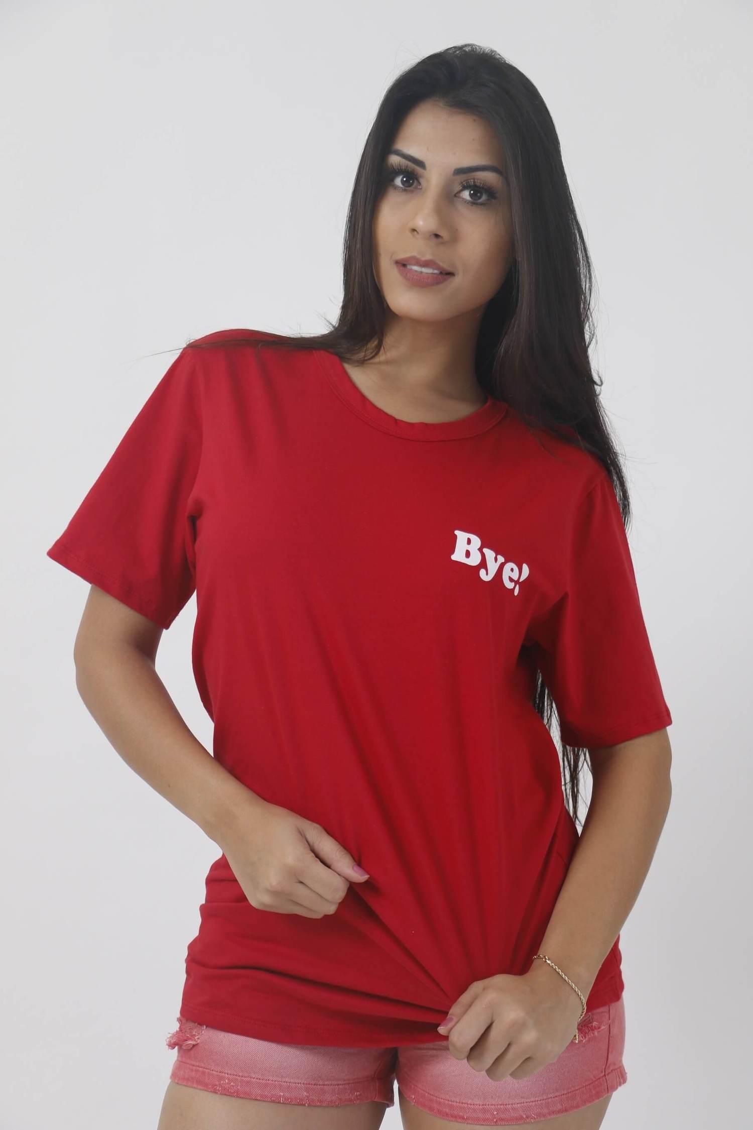 Camiseta- Bye