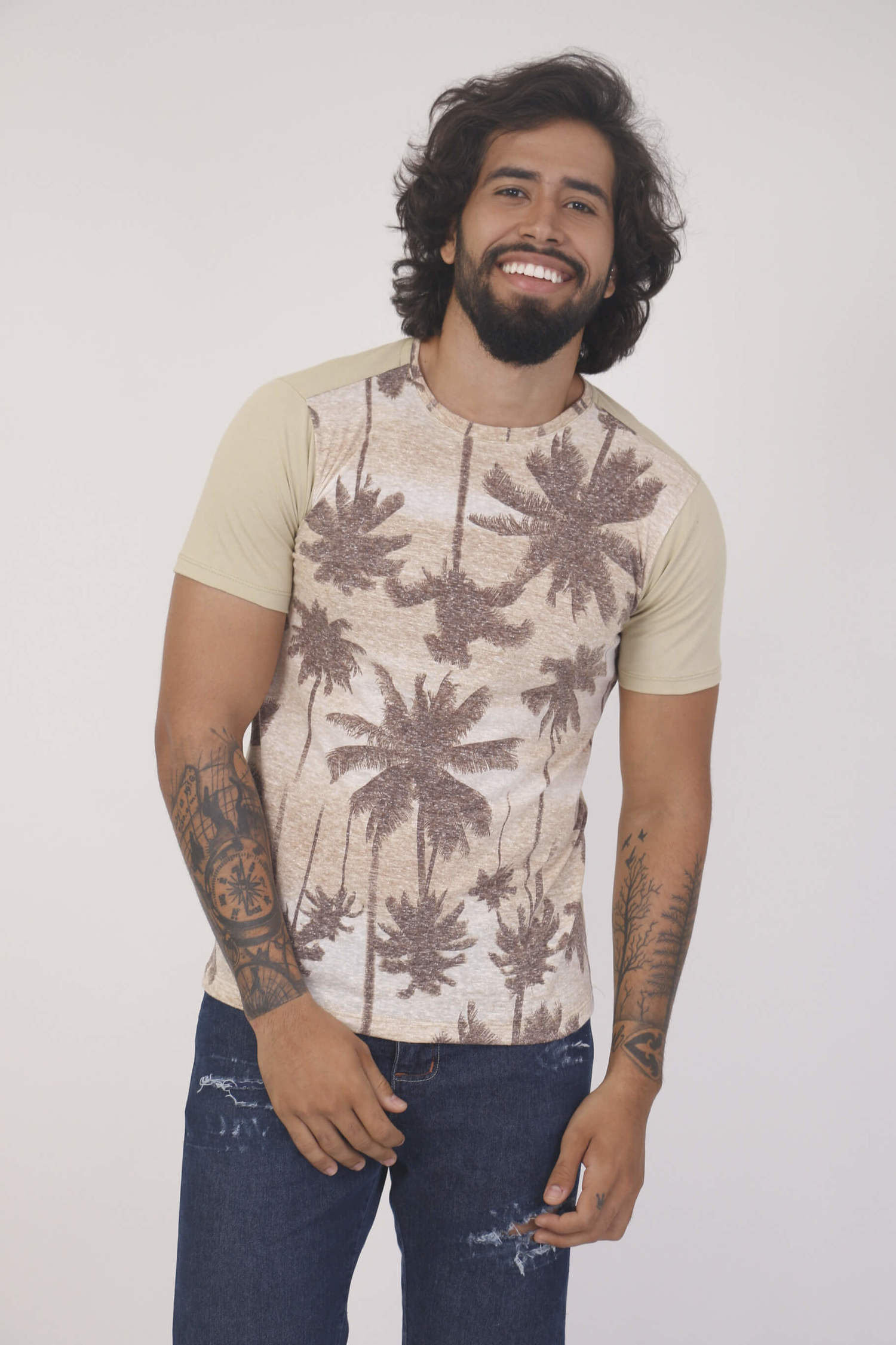 Camiseta Estampada Palmeiras