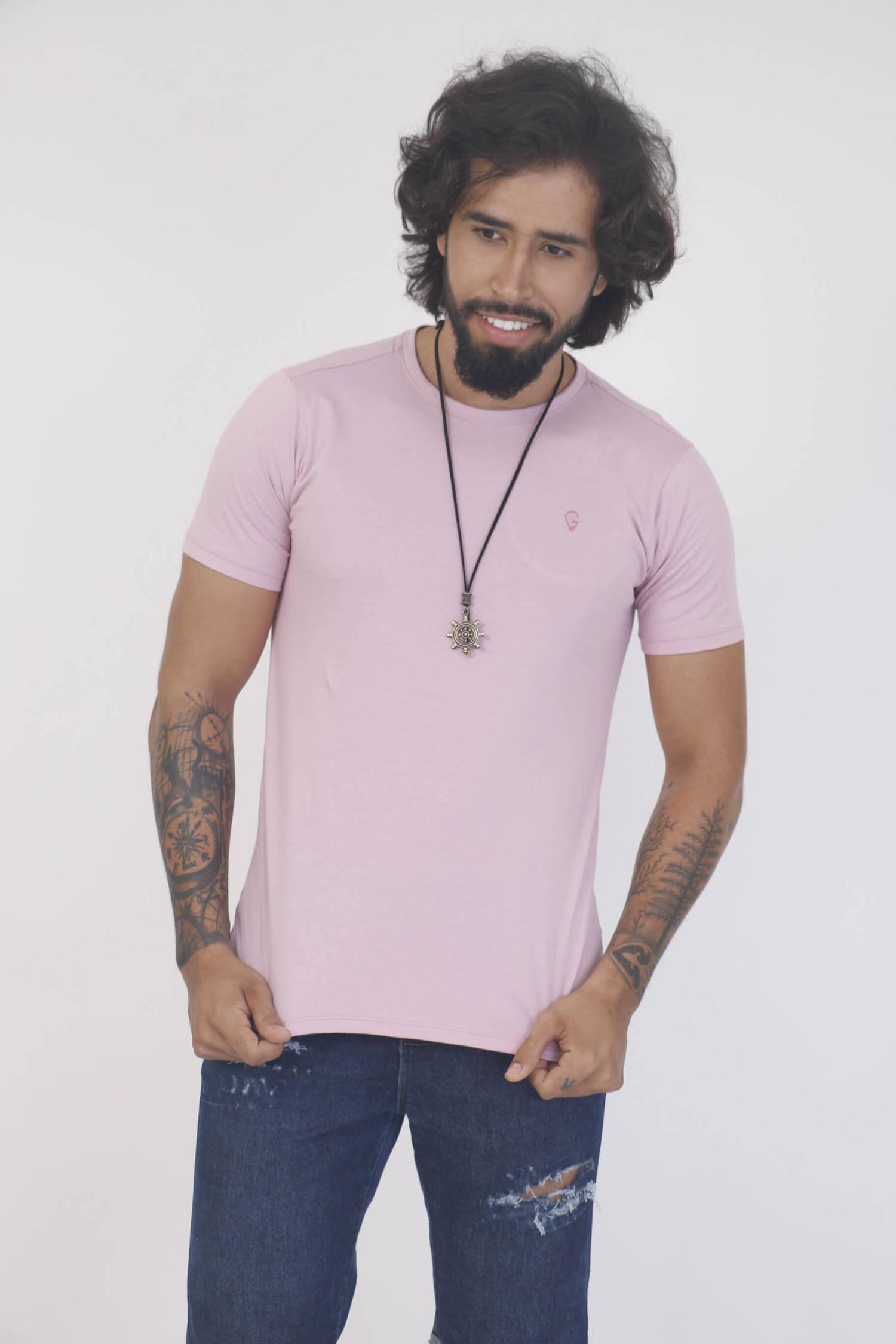 Camiseta Rosè Slim