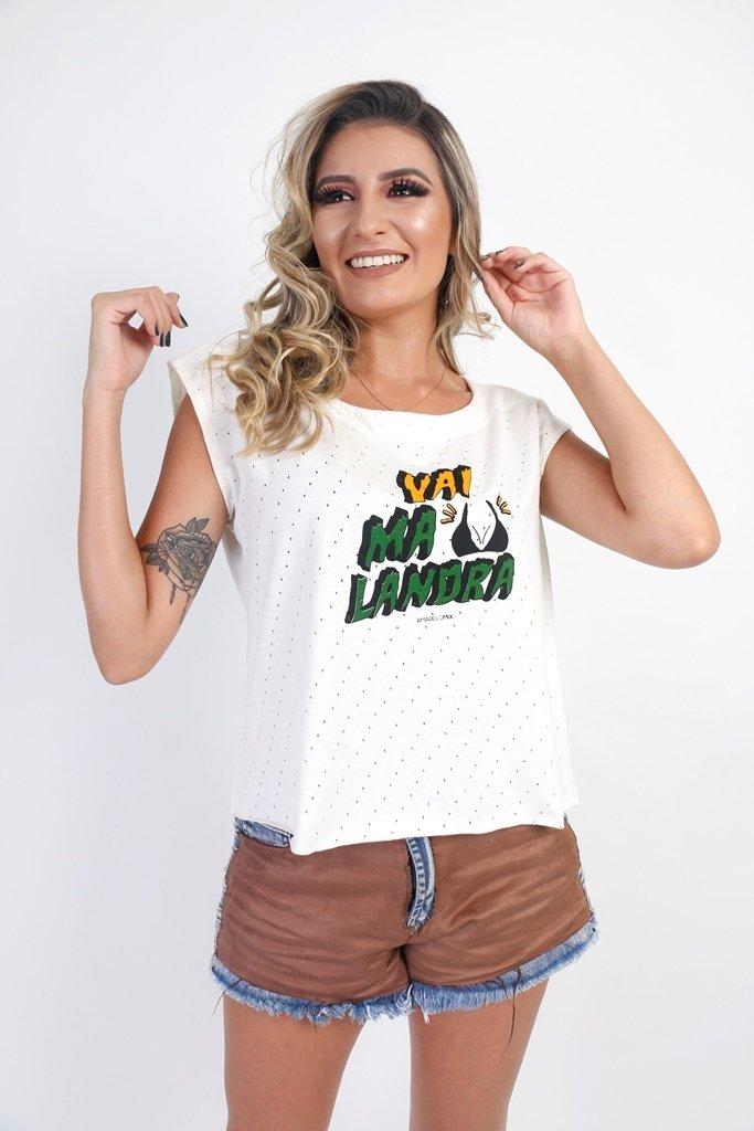 Camiseta 'Vai Malandra'