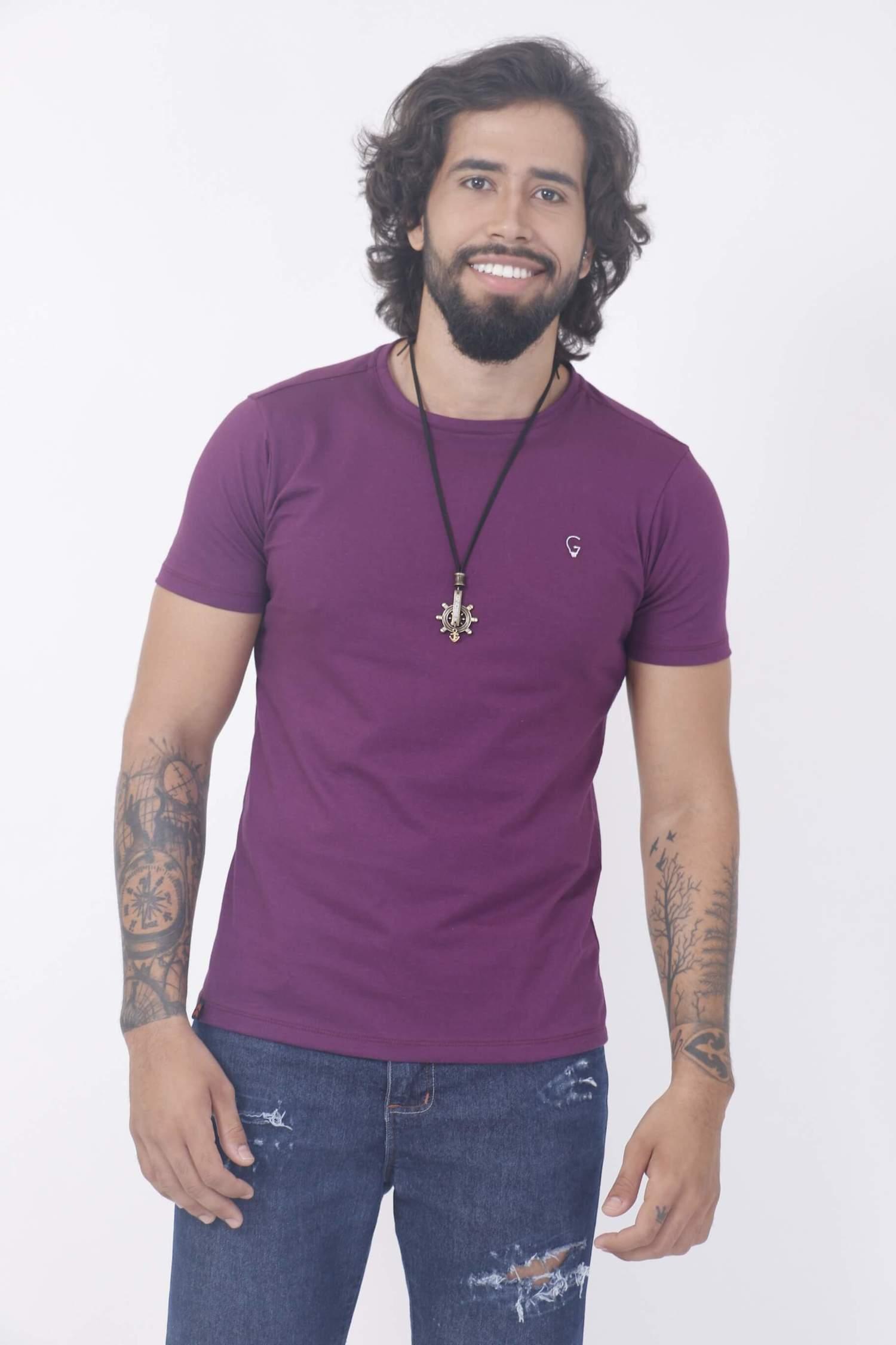 Camiseta Violeta Slim