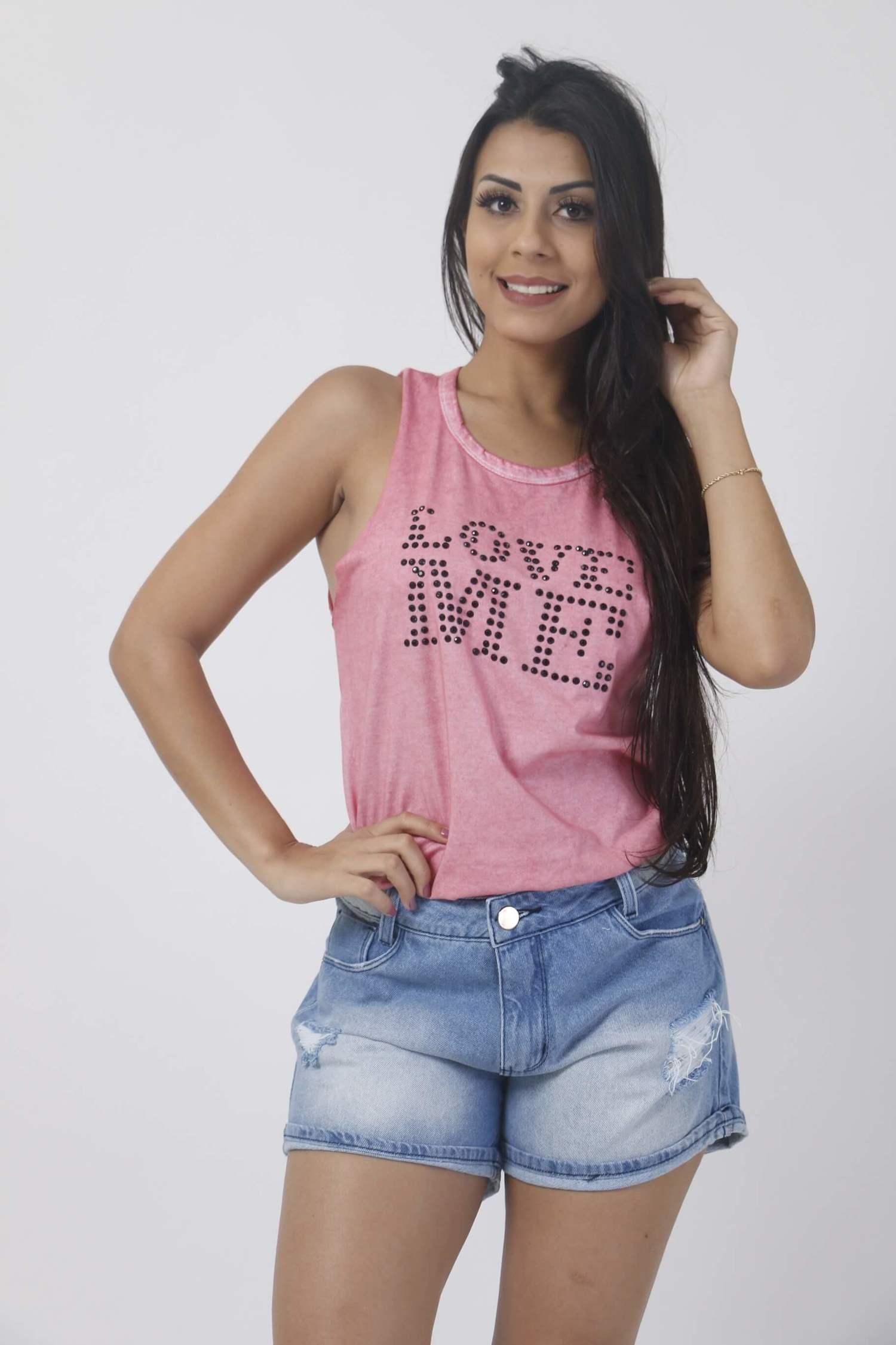 Regatinha Rosa Love Me