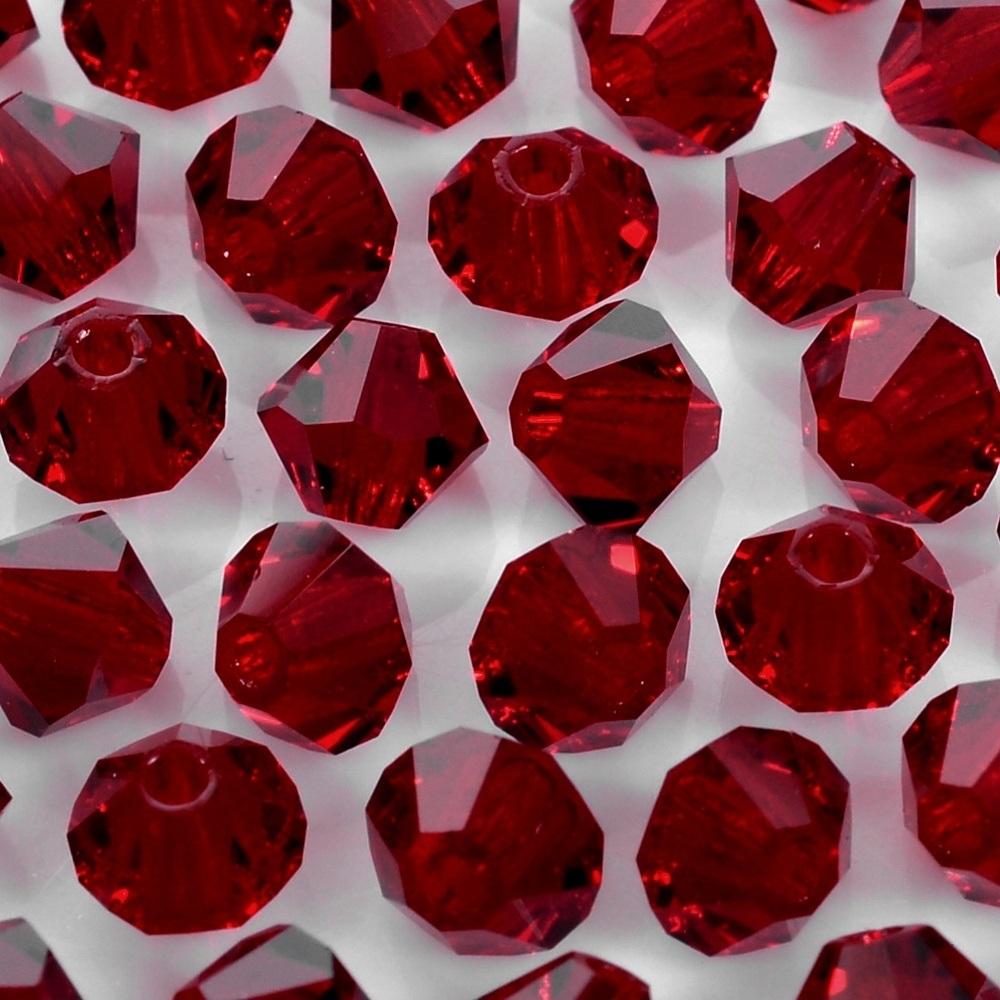 Balão de Cristal Preciosa Siam 4mm 720pcs