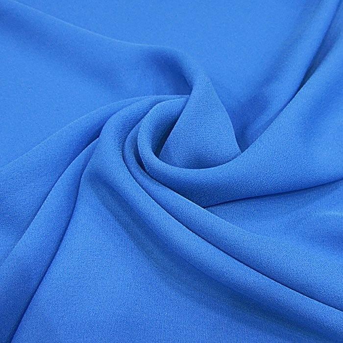 Tecido Crepe Georgete Azul