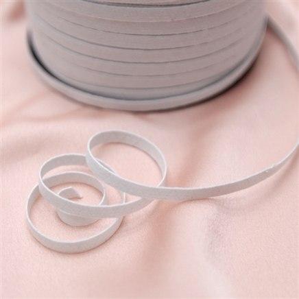 Elástico branco 6 mm - 1 unidade = 1 metro