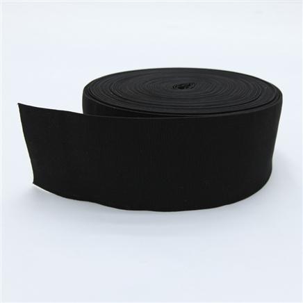 Elástico preto 80 mm