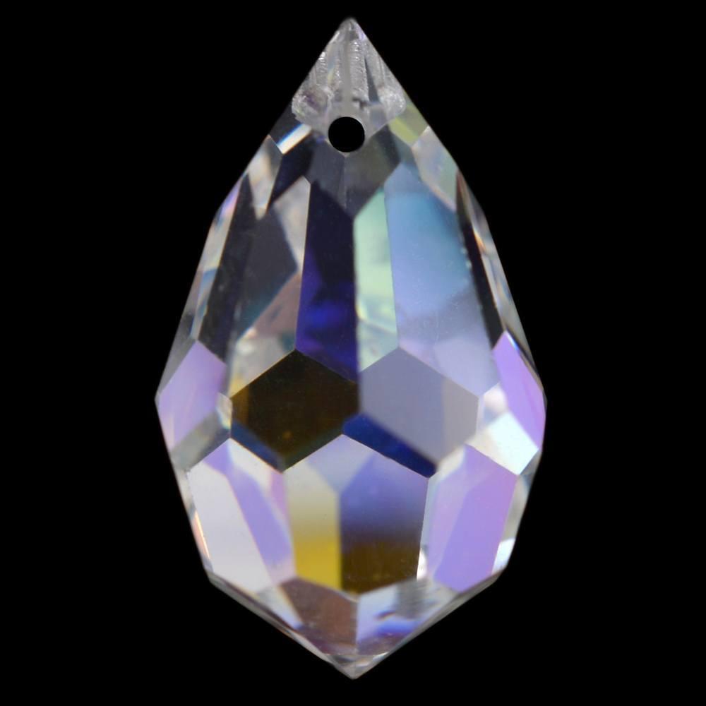 Gota Drops Preciosa Cristal AB 10x6mm 144pcs