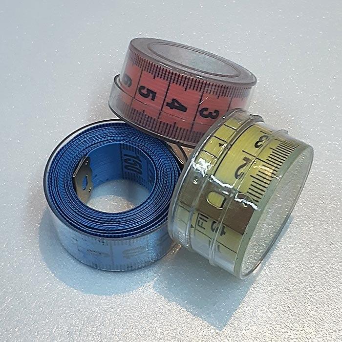 Kit Fita Métrica Em Caixa Transparente - 3 unidades