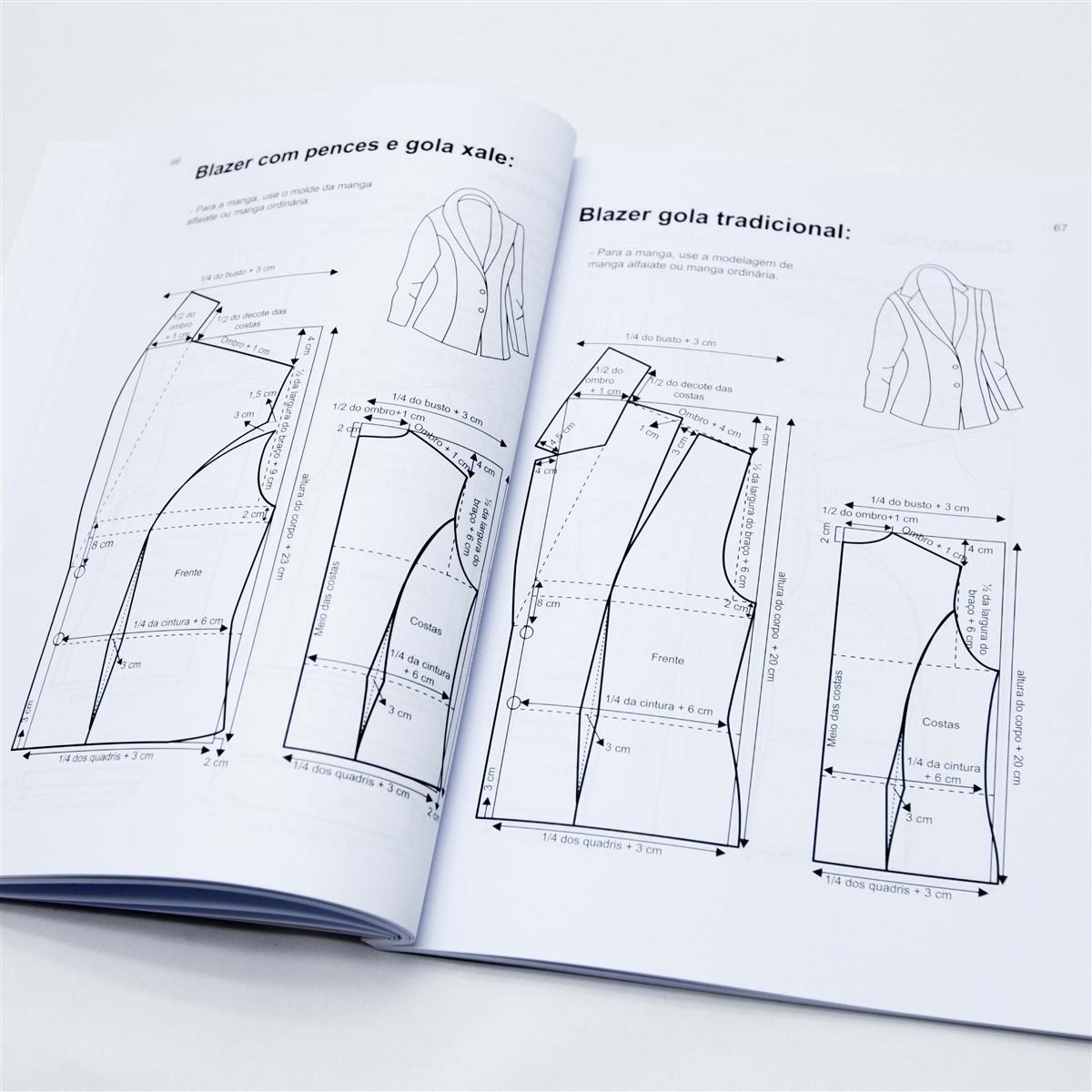 e257e2166 Livro Modelagem prática para confecção ED.5ª - Marlene Mukai