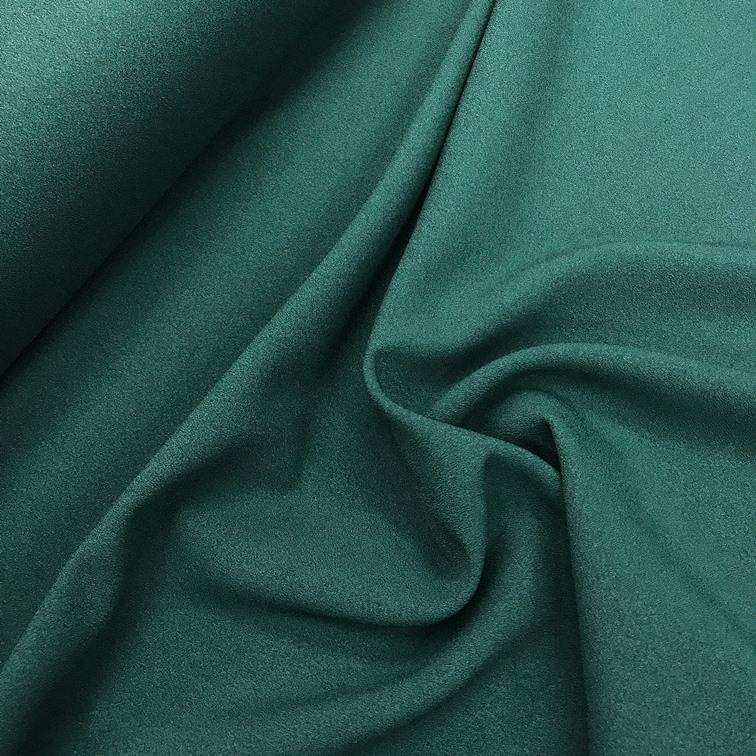 Tecido Crepe Valentino Verde Escuro - Pantone 3435-C