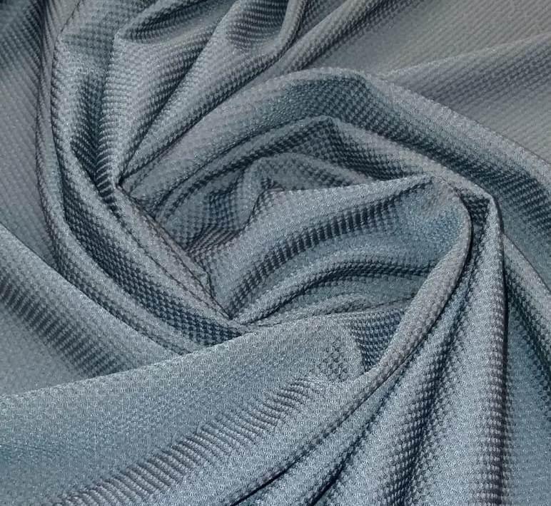 Tecido Lã Tweed Azul Petróleo