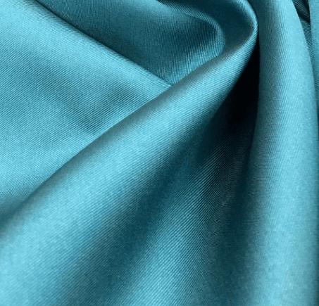 Tecido Zibeline de Poliéster Azul Petróleo