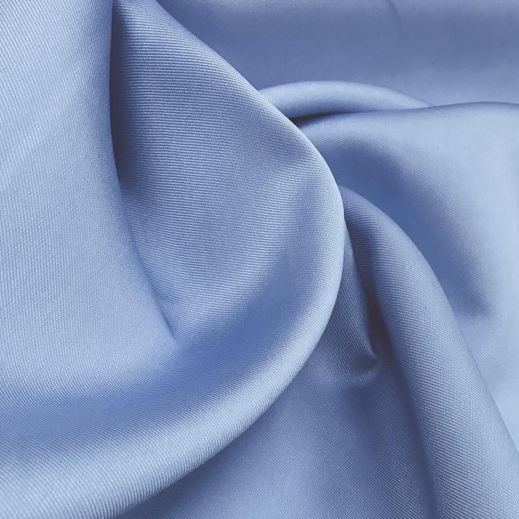 Tecido Zibeline de Poliéster Azul Serenity-Pantone 7453 C