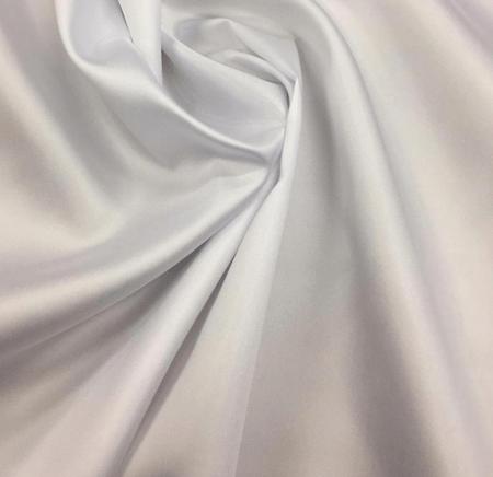 Tecido Zibeline de Poliéster Branco