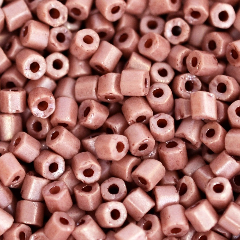 Vidrilho Perolado Preciosa Rosa 2x9/0=2,6mm 500g