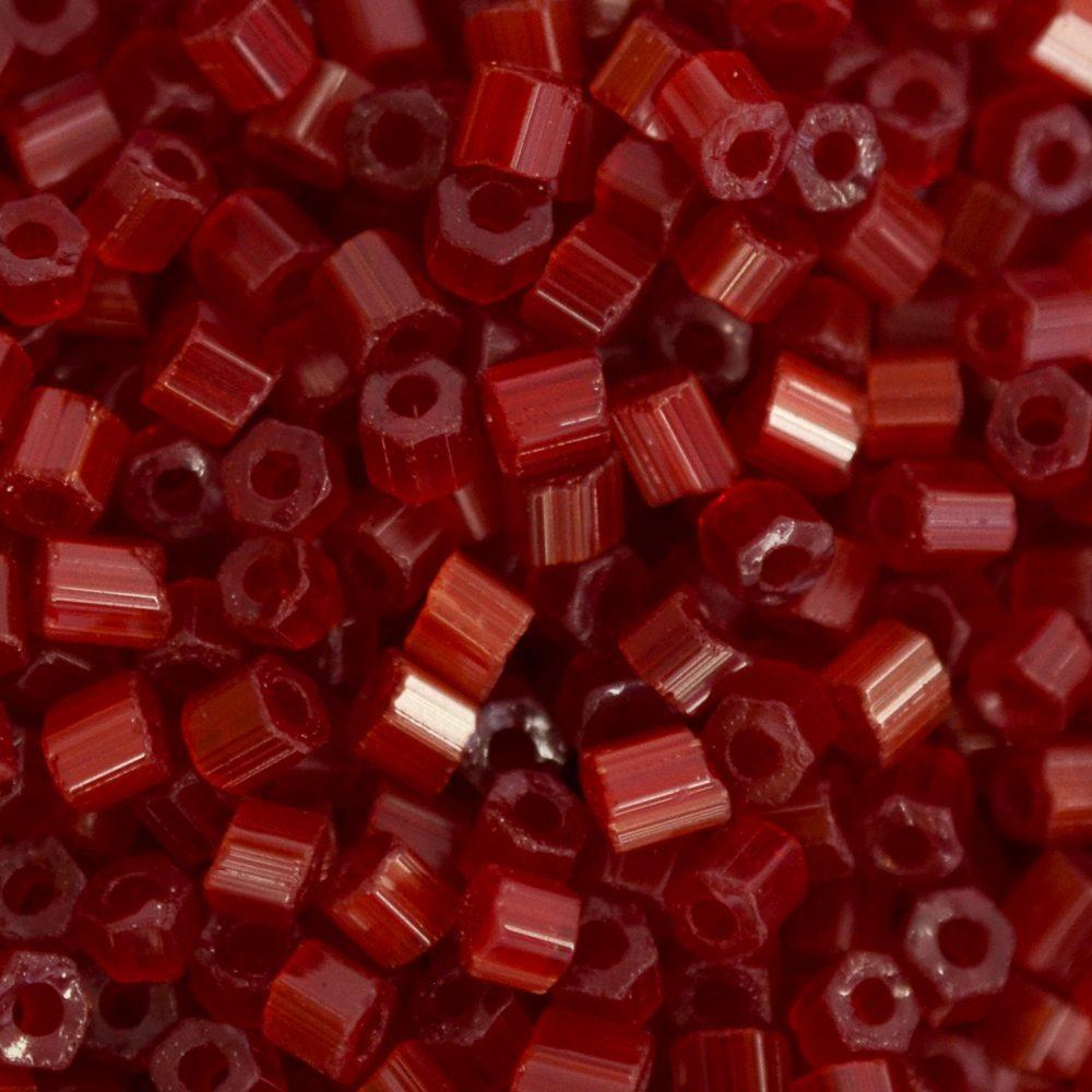 Vidrilho Seda Preciosa Vermelho 2x9/0=2,6mm 500g