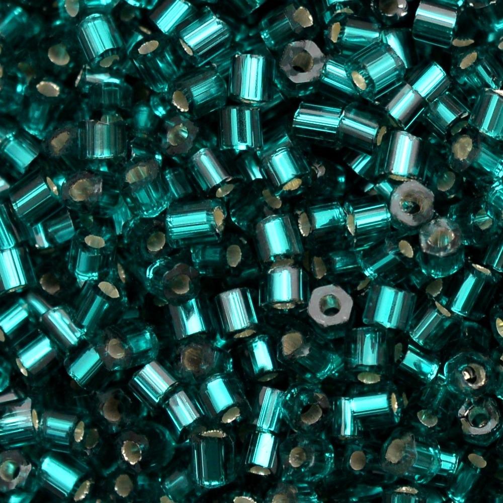 Vidrilho Transp. Preciosa Verde 2x9/0=2,6mm 500g