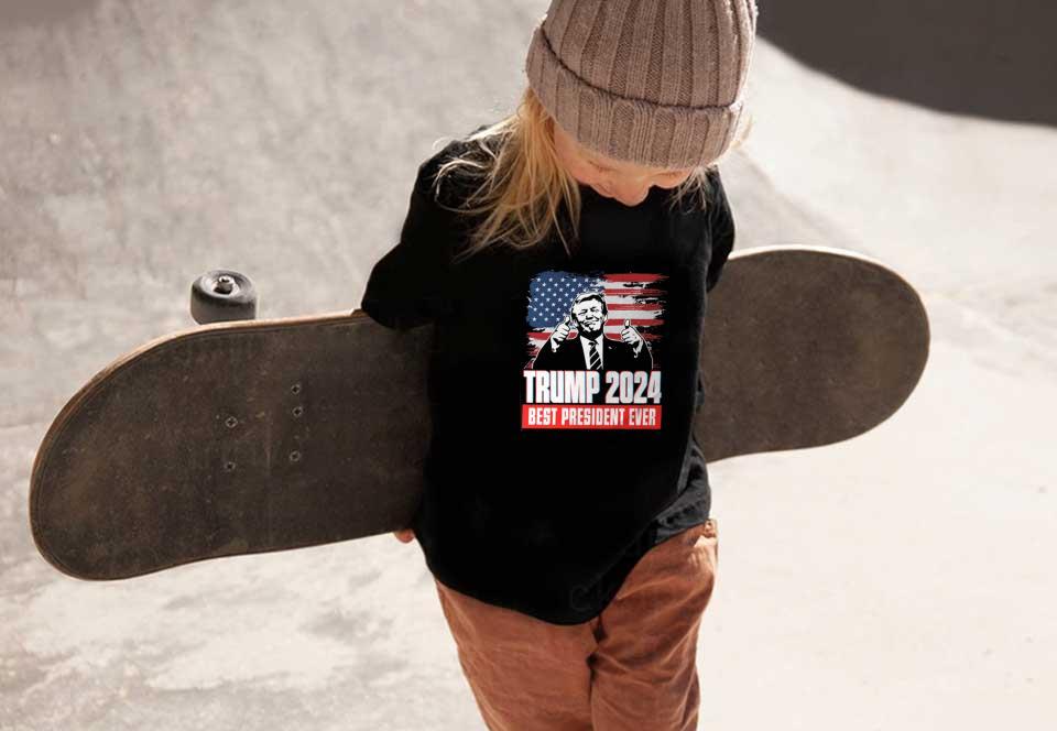 Best President Trump Shirt, Trump 2024 Best President Ever Shirt, Donald Trump 2024 President Shirt