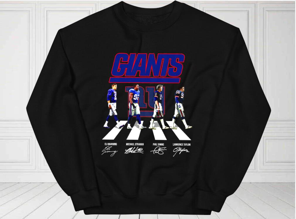 New%20York%20Giants%20Eli%20Manning%20Michael%20Strahan%20Phil%20Simms%20Lawrence%20Taylor%20Abbey%20Road%20Signatures%20Shirt,%20New%20York%20Giants%20For%20Fan%20Shirtbao3 - Awesome New York Giants Eli Manning Michael Strahan Phil Simms Lawrence Taylor Abbey Road Signatures Shirt, New York Giants For Fan men shirt