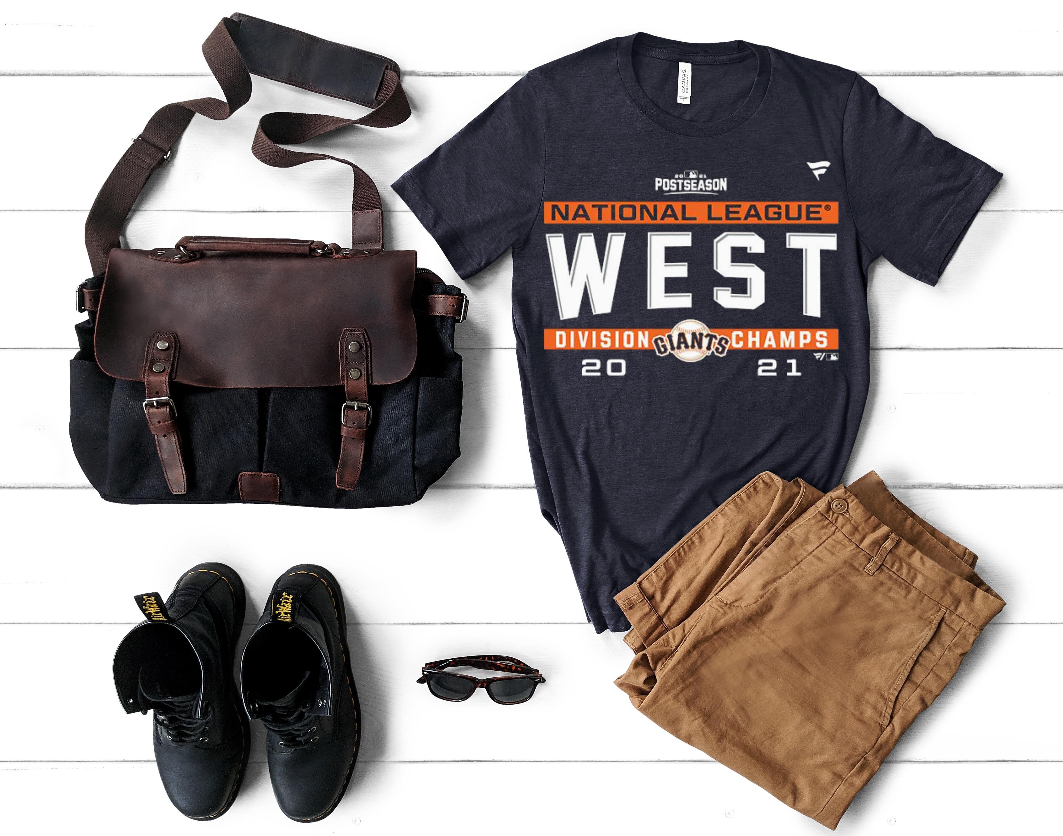 Nice San Francisco Giants Postseason National League West Division Champs 2021 shirt