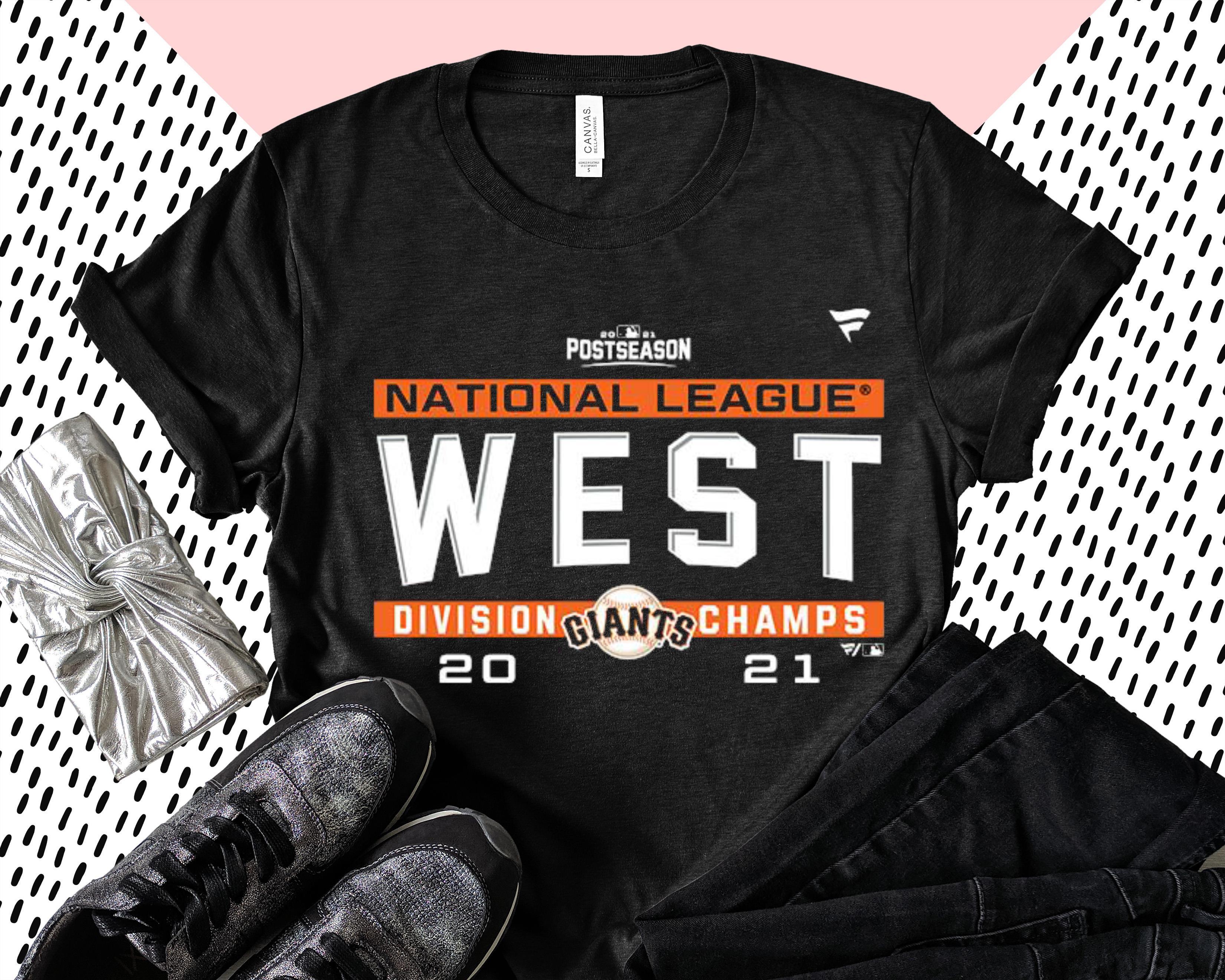 Best MLB San Francisco Giants NL West Division Champs 2021 Shirt