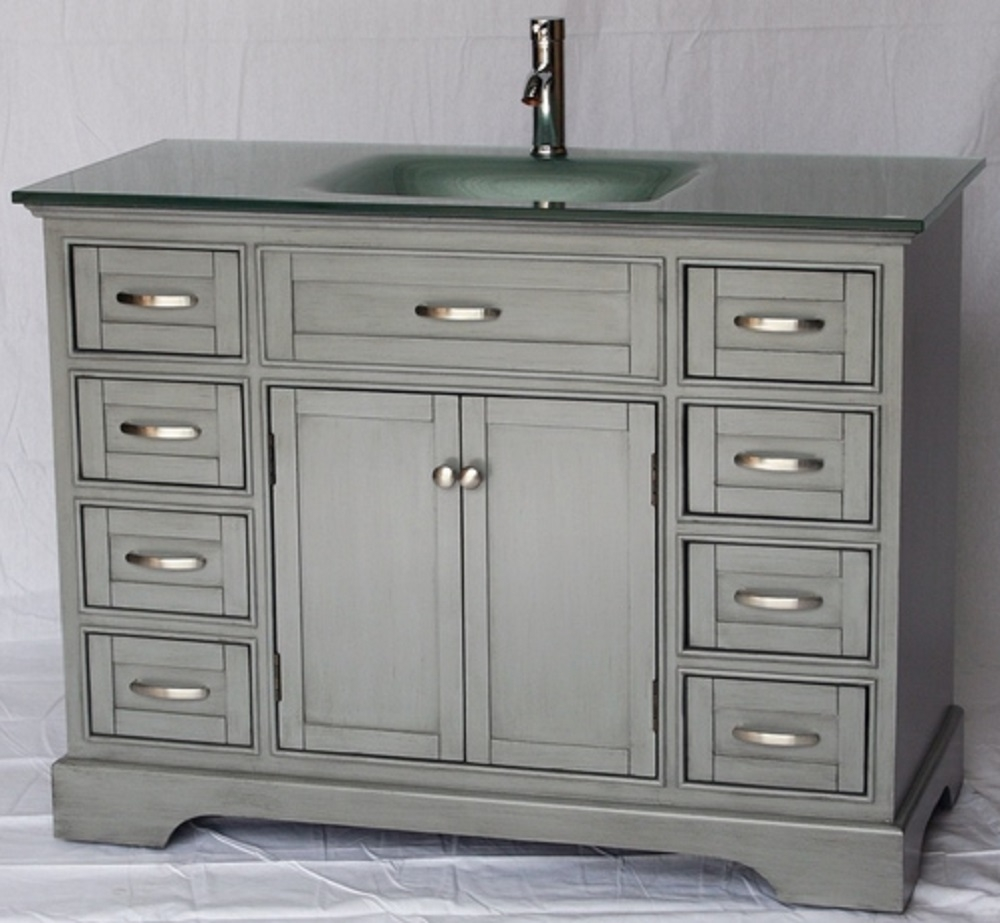 46 Inch Bathroom Vanity Without Top