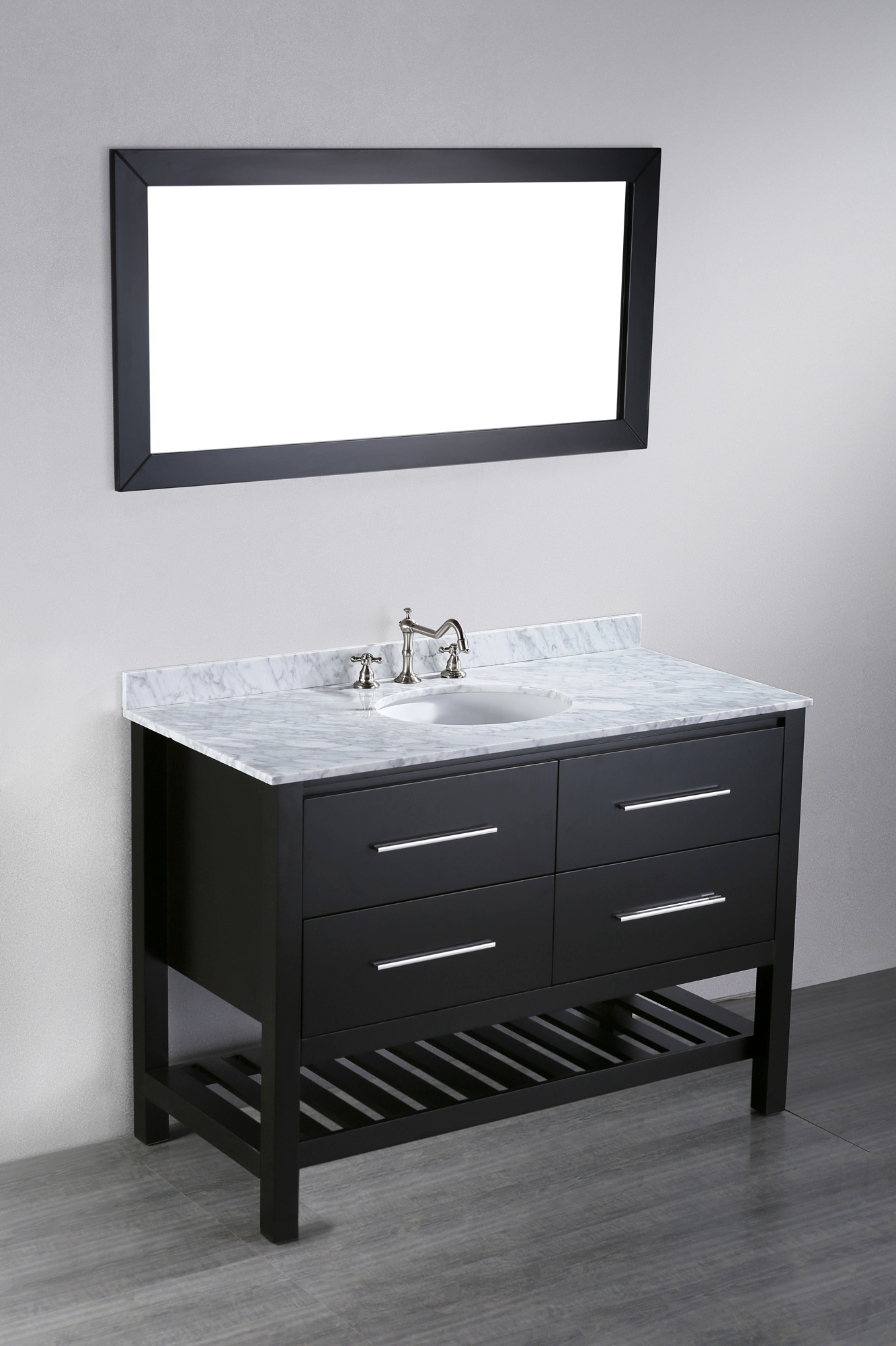 48 Inch Bathroom Vanity With Matching Linen Tower