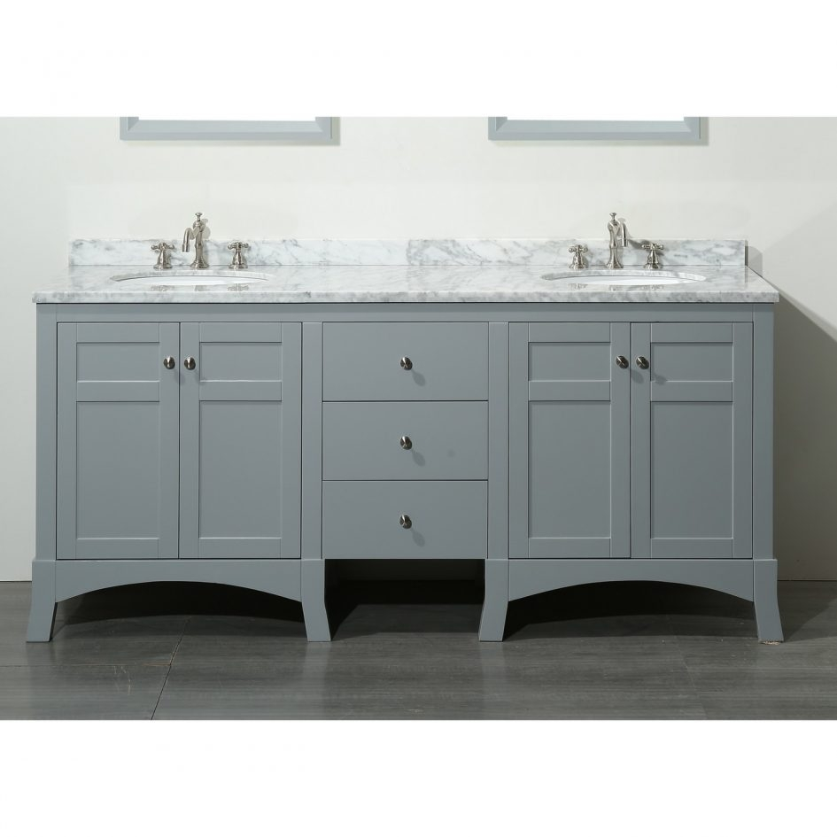 48 White Bathroom Vanity Without Top