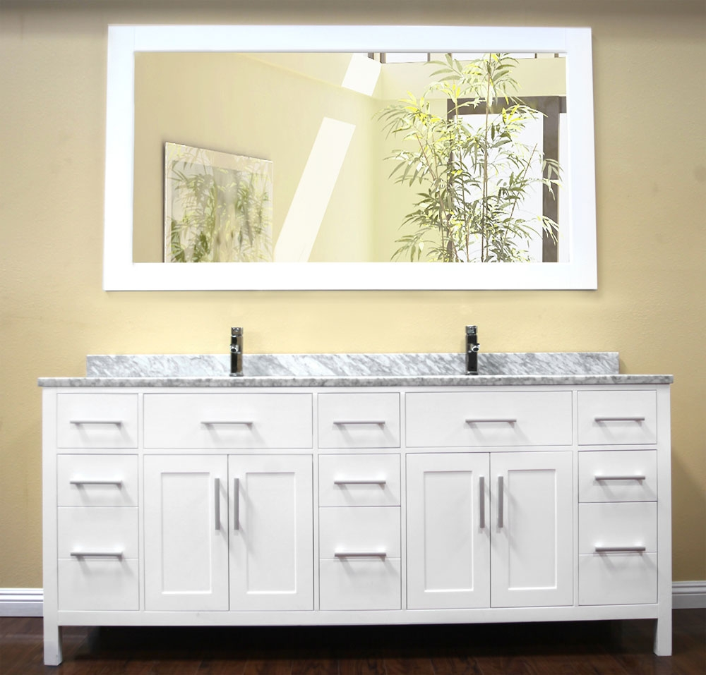 78 Double Sink Bathroom Vanity