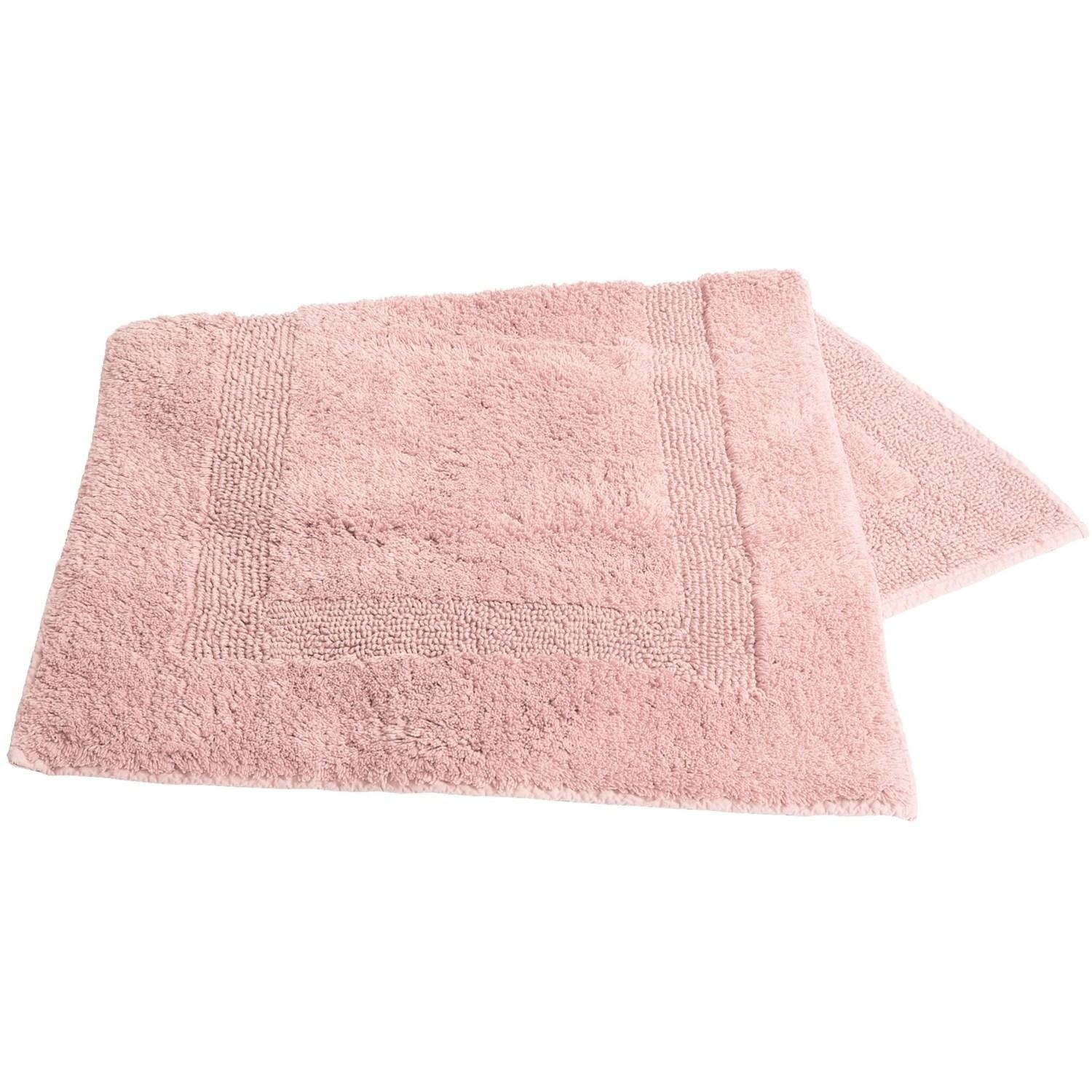 Baby Pink Bathroom Rugs