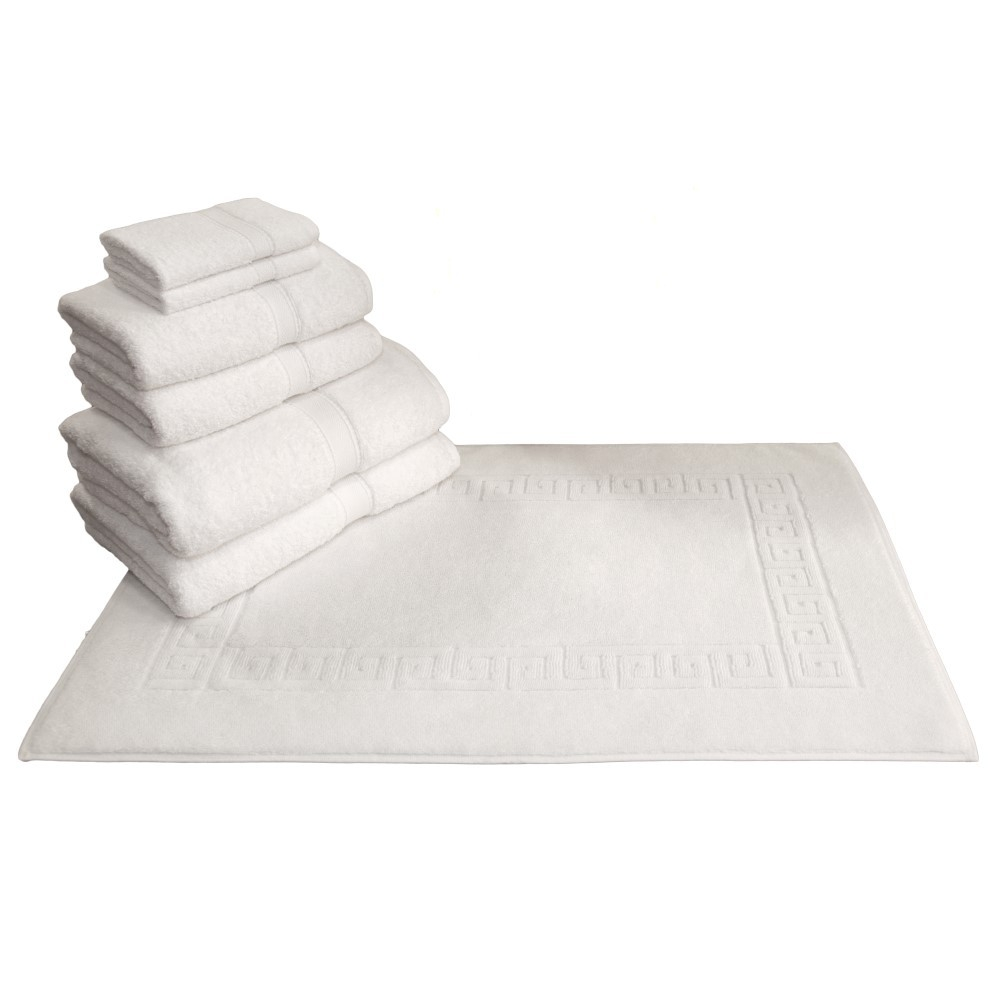 Bath Mat And Towel Sets