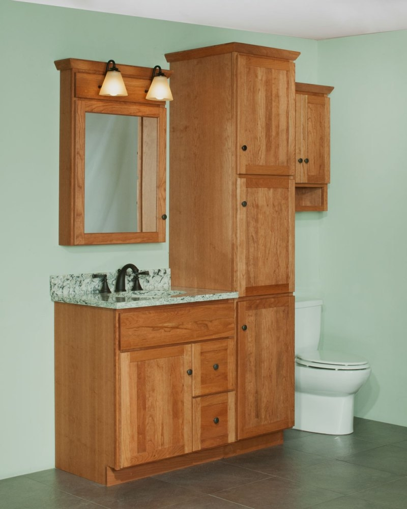 Bathroom Vanities Linen Cabinet Sets