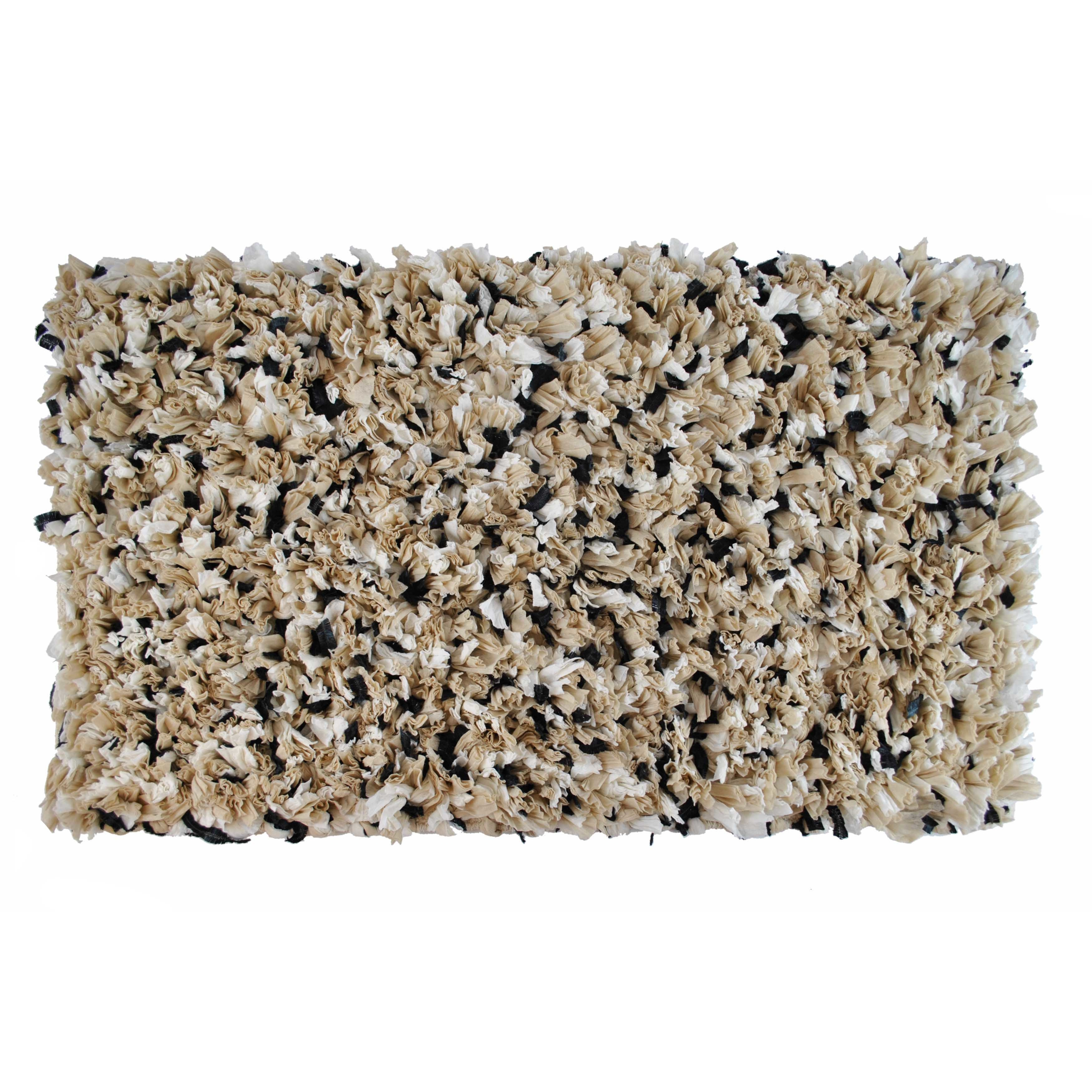 Black And Gold Bathroom Rugs