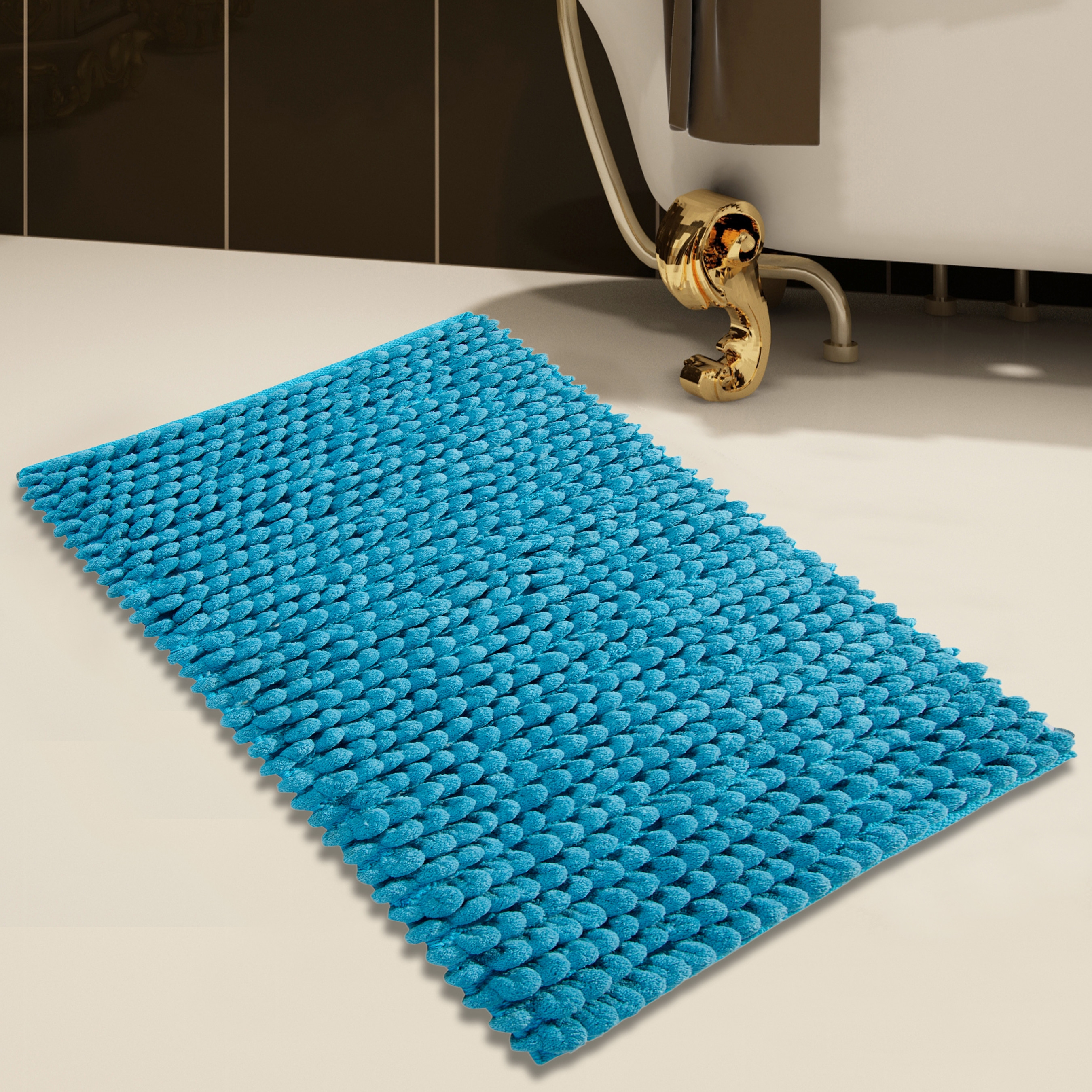 Permalink to Cobalt Blue Bathroom Rugs