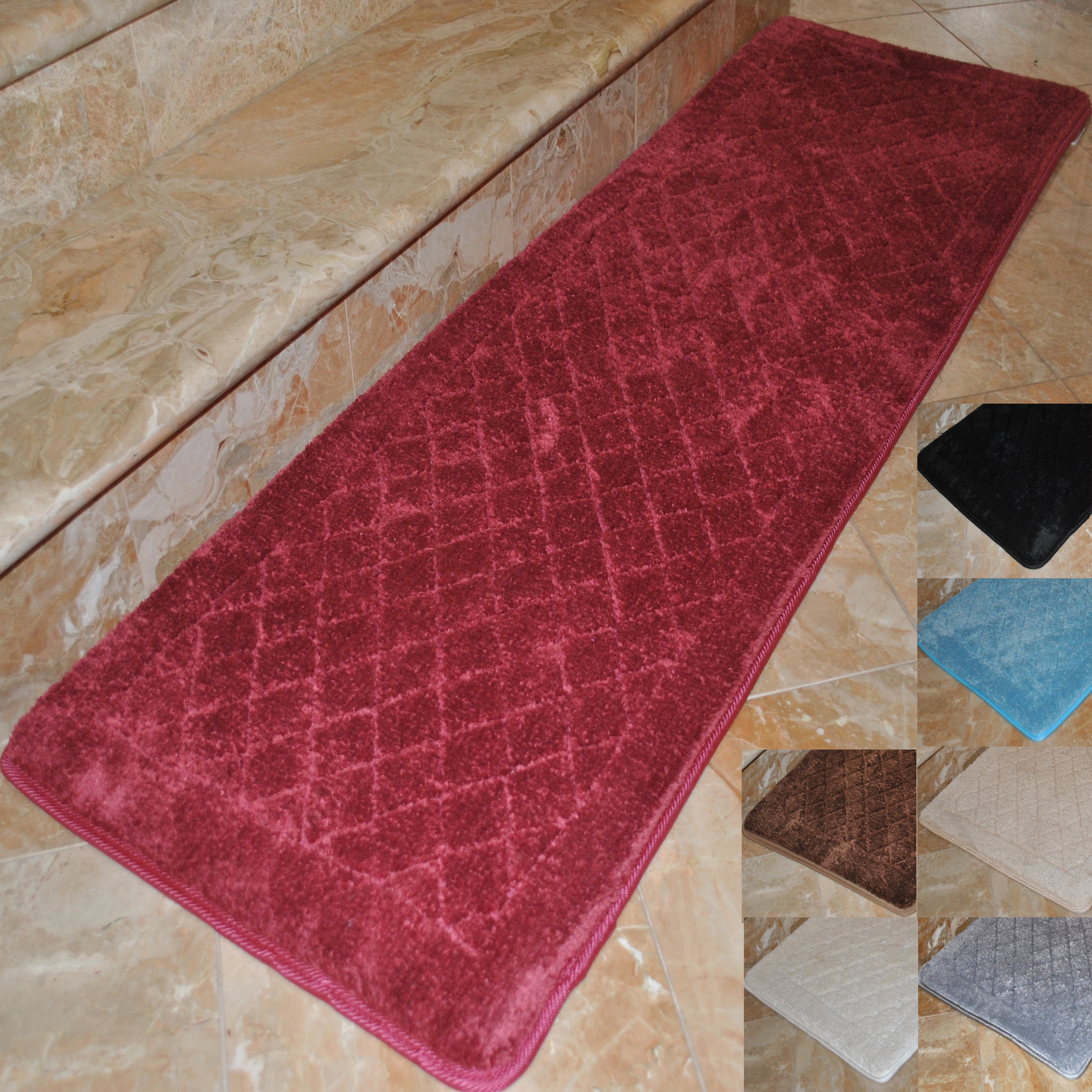 Cotton Bathroom Runner Rugs