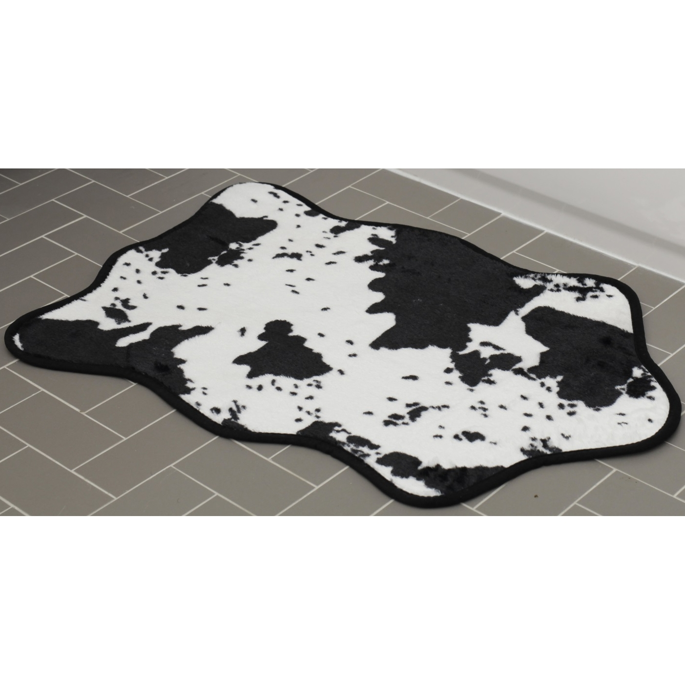 Cowhide Bathroom Rugs