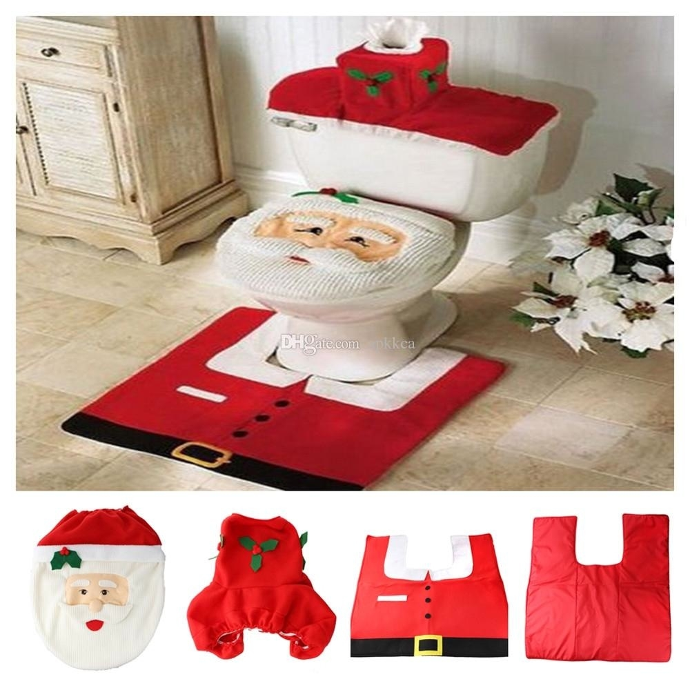 Holiday Bath Rug Sets