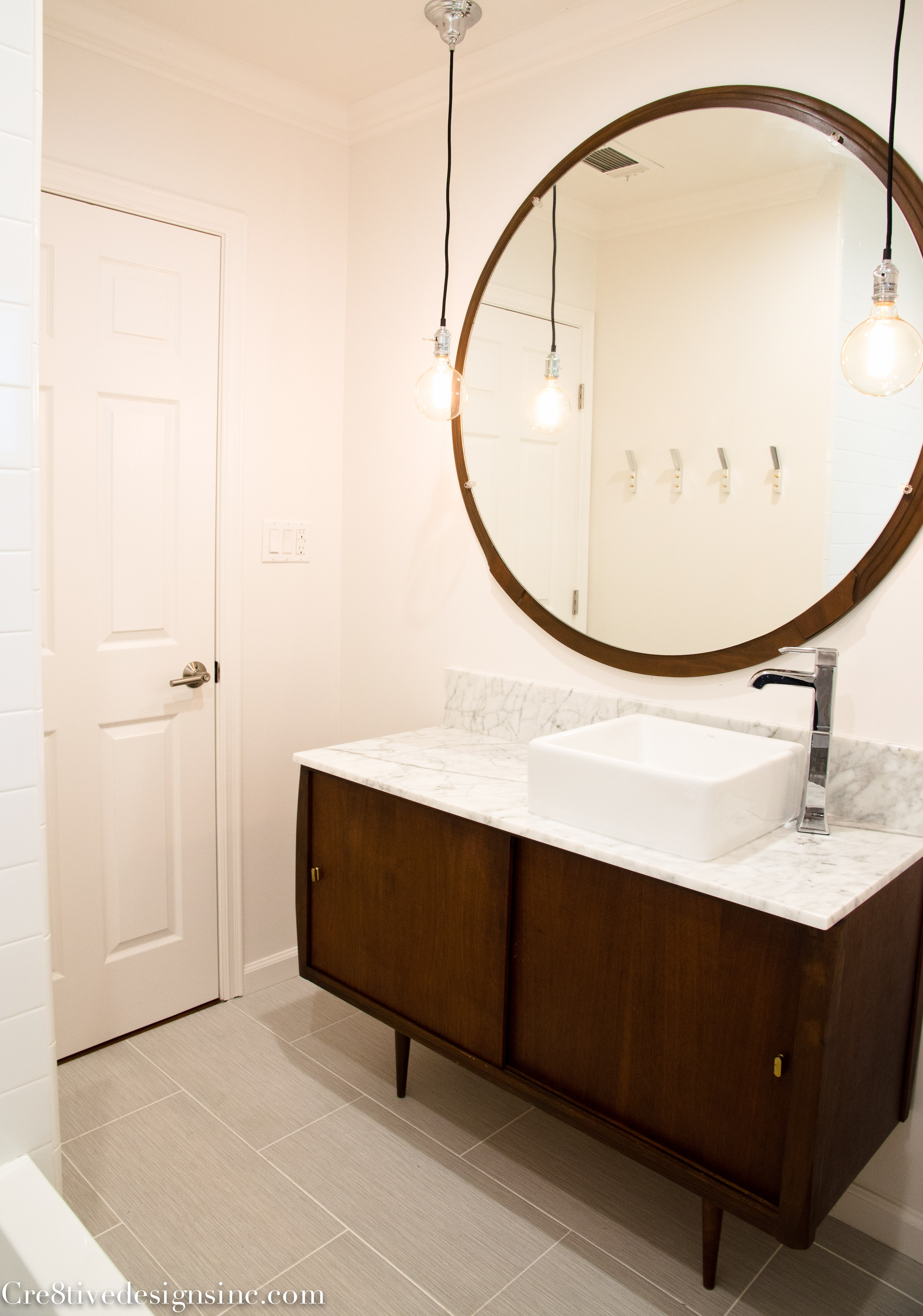 Mid Century Modern Bathroom Vanity Ideas