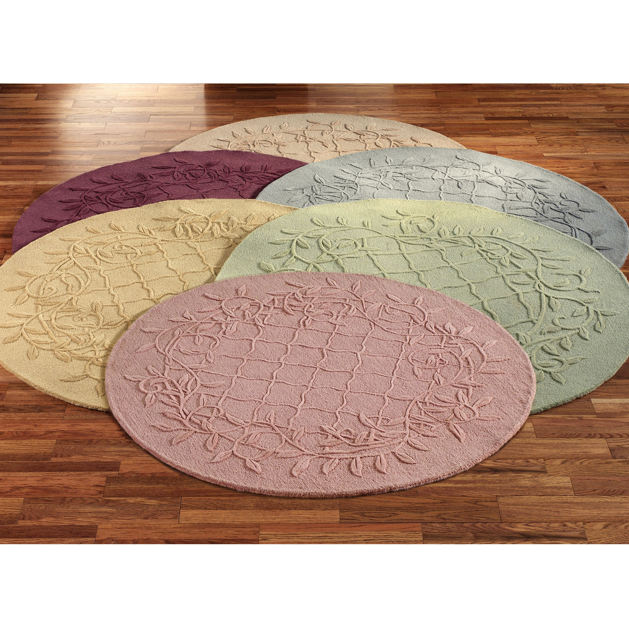 Modern Round Bathroom Rug