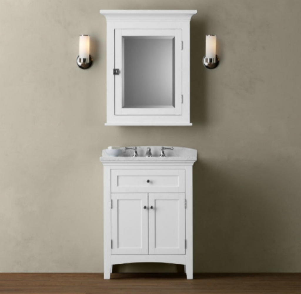 Narrow Bathroom Vanity With Sink