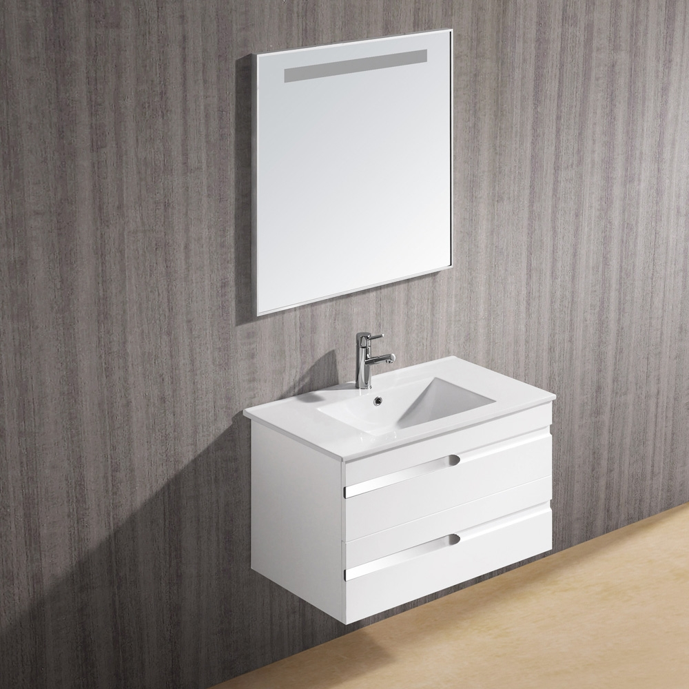Petite Bathroom Vanity White