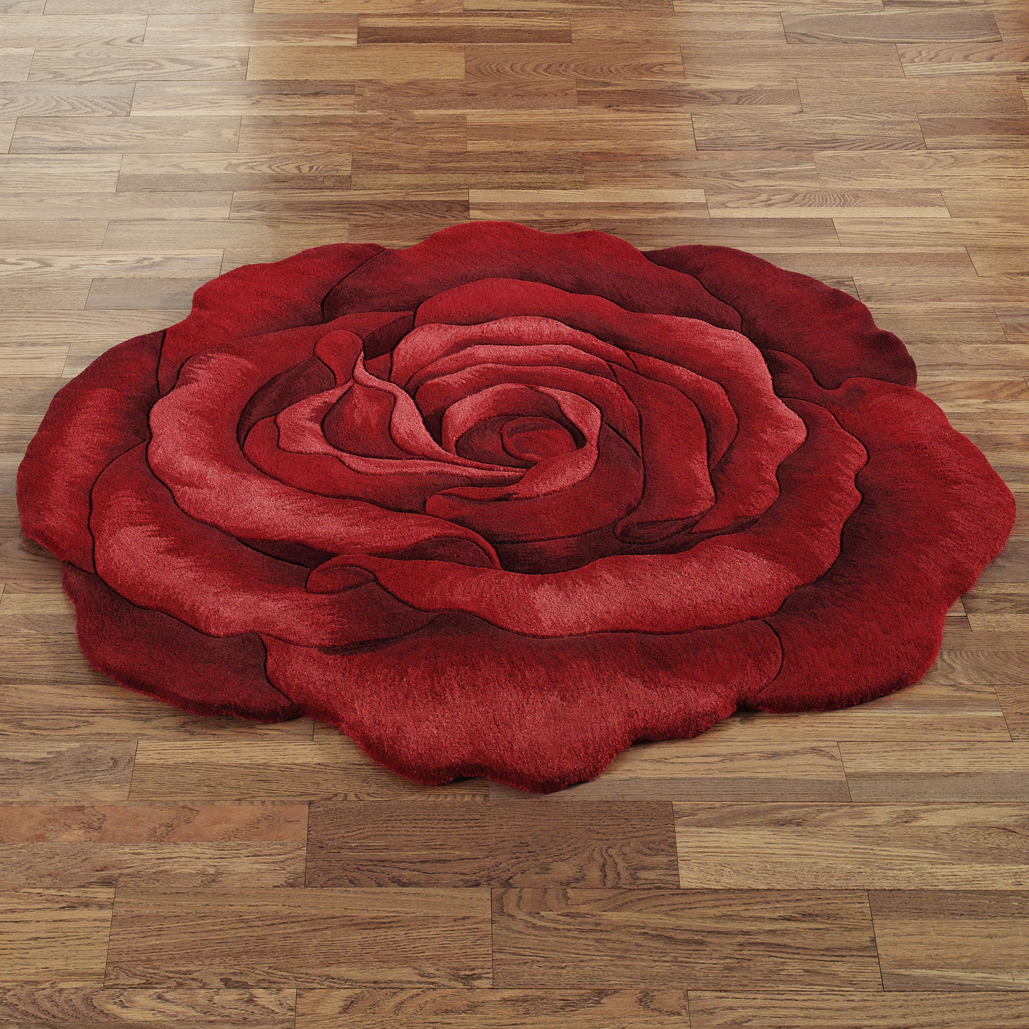Round Bathroom Throw Rugs