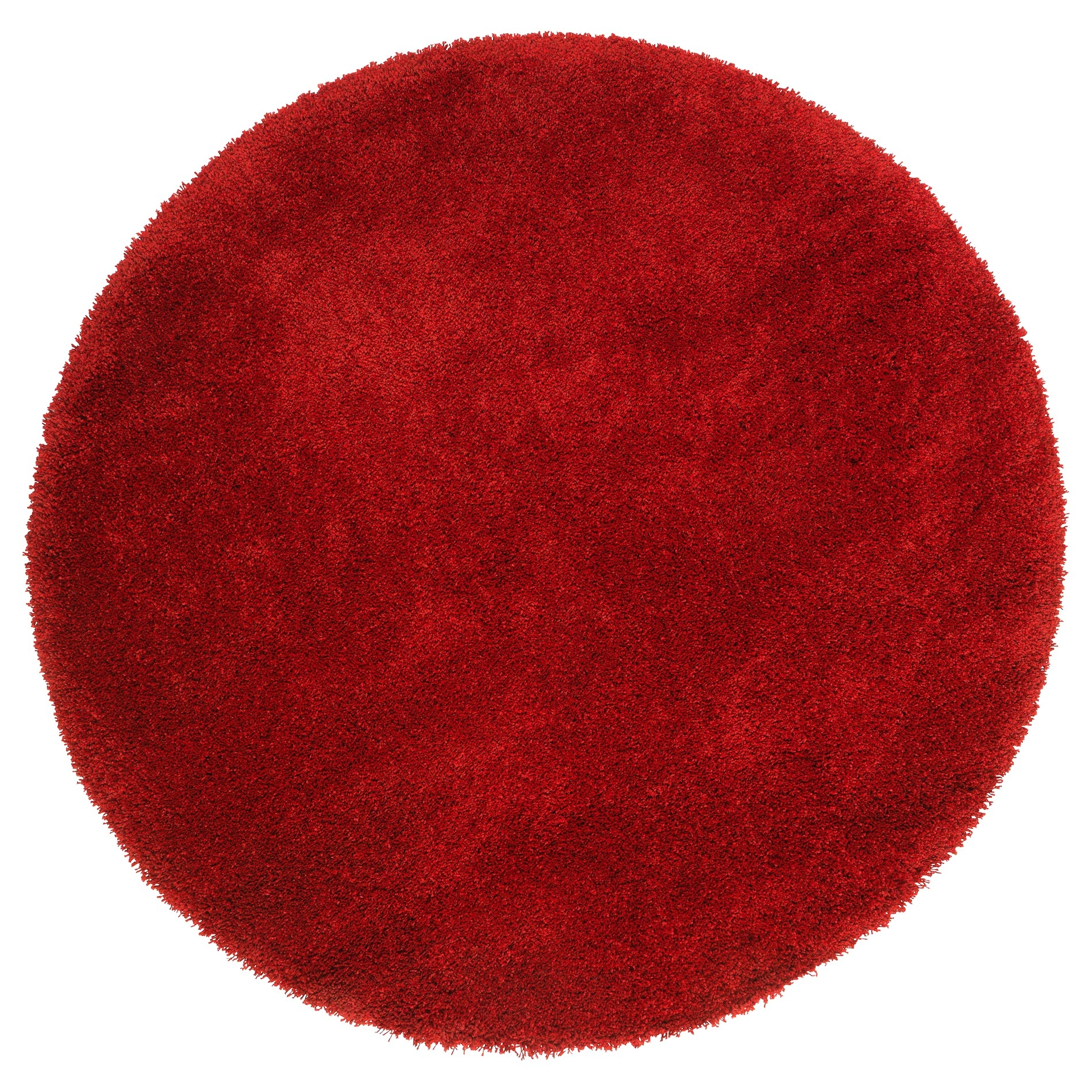 Round Red Bathroom Rugs
