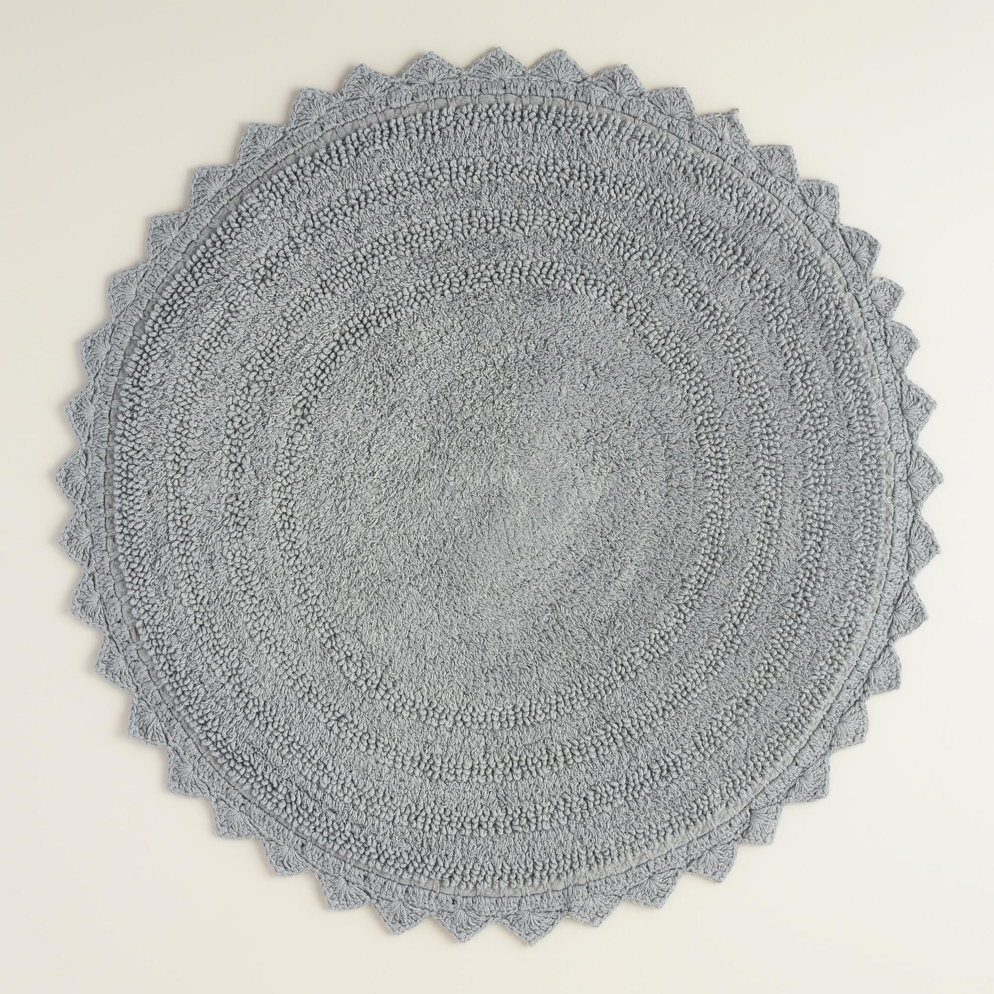 Round Rugs For The Bathroom