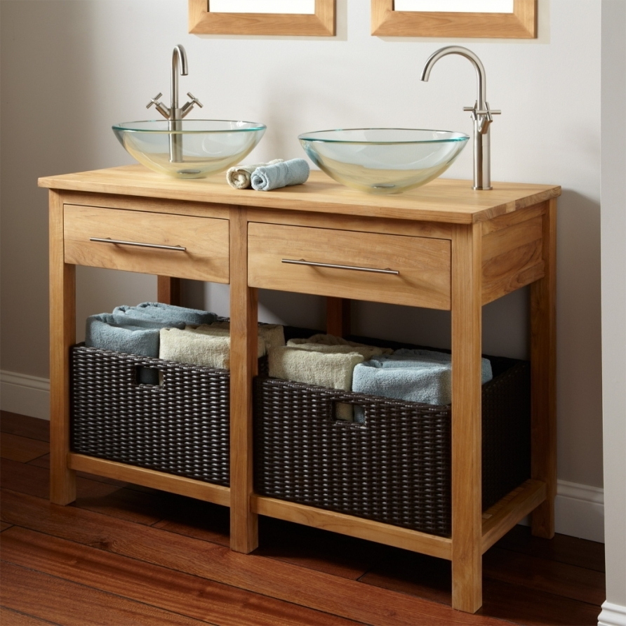 Sears White Bathroom Vanity