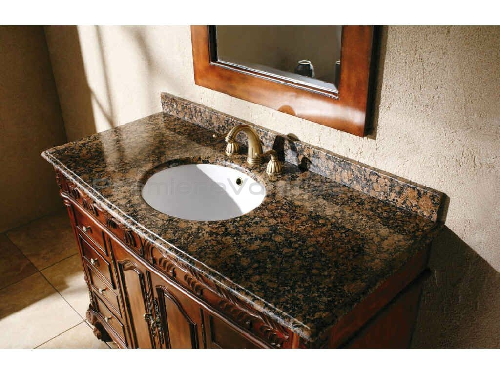 Small Bathroom Vanity With Granite Top
